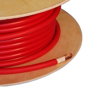 Flexibele accu/montage kabel Rood 16 mm²
